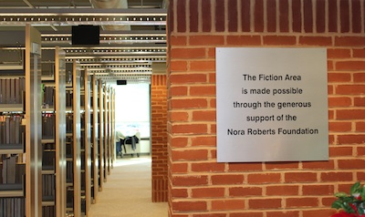 Washington County Public Library Fiction Room
